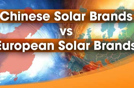 Difference between European and Chinese Solar Brands! The facts will shock you
